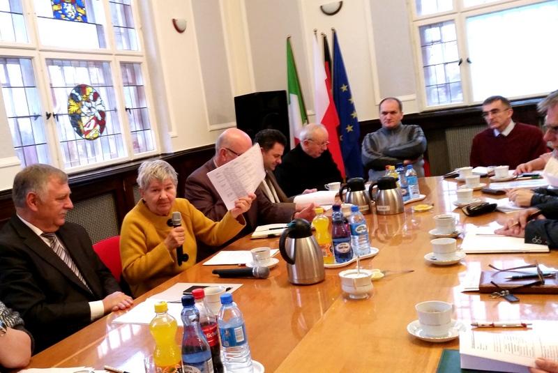 Robocze spotkanie komitetu organizacyjnego