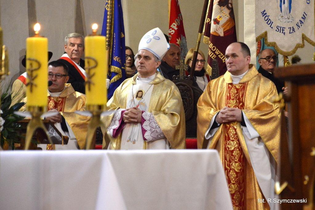 Uroczyste zakończenie 40-lecia Parafii pw. WNMP w Sławnie