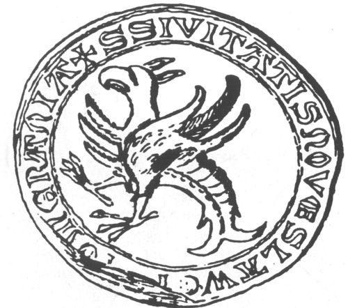 1 Pieczęć Sławna z 1342 roku