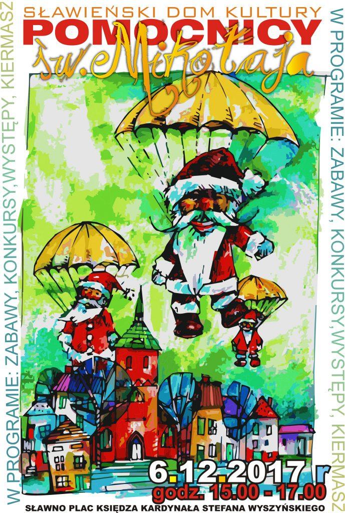 Jarmark świąteczny – Pomocnicy św. Mikołaja