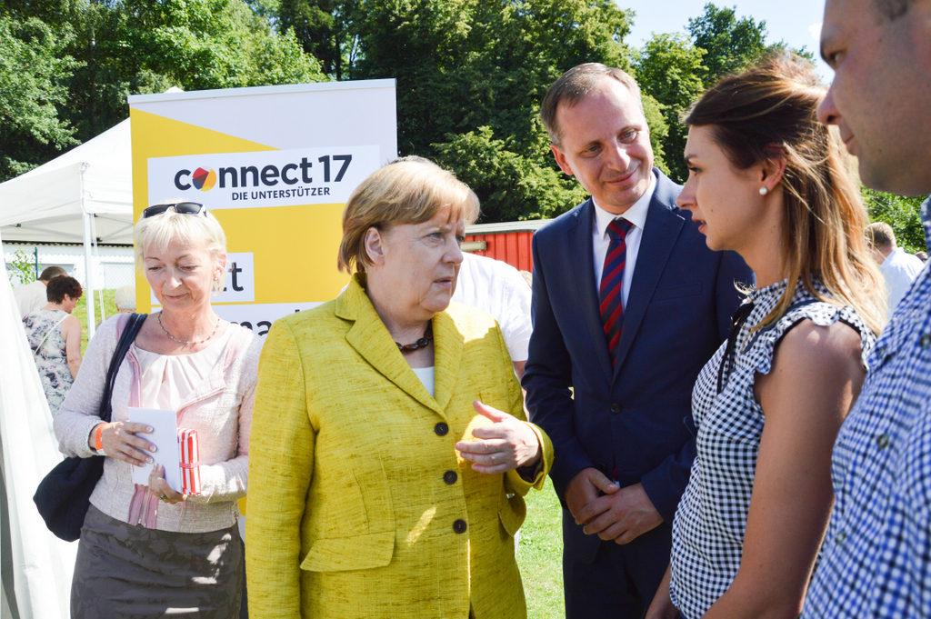 Spotkanie z Angelą Merkel