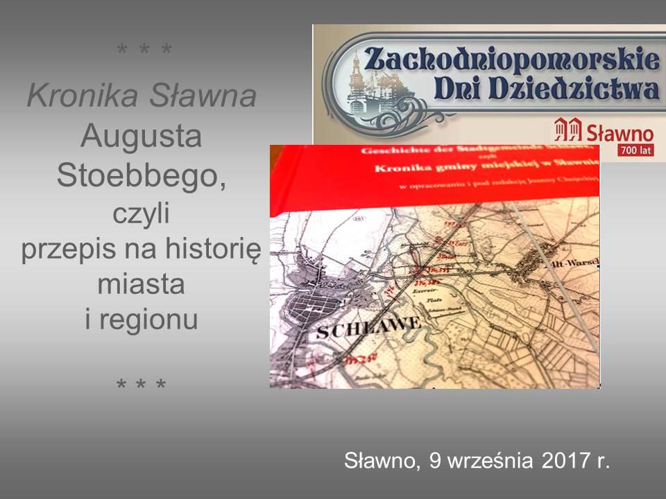 Kronika Sławna Augusta Stoebbego
