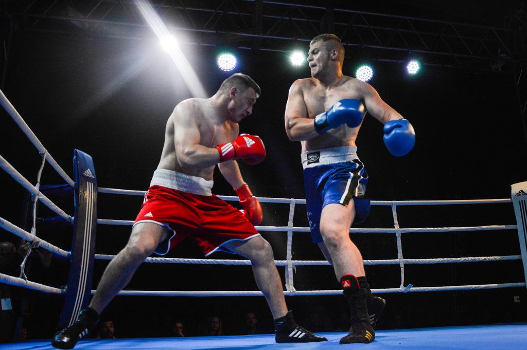 Udana gala boksu w Sławnie. Nokaut w walce wieczoru